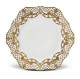 L'Objet Alencon Dinner Plate in Gold