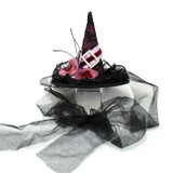 Katherine's Collection Witch Hat Fascinator