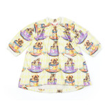 Paper Wings Baby Girls Tea Party Heart Pocket Smock