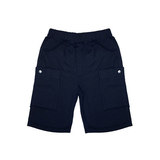 Nanos-Knit-Cargo-Shorts-in-Navy-