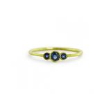 ILA Melika Blue Sapphire Ring