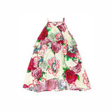 Paper Wings Roses & Doilies Maxi Dress