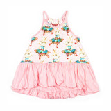 Paper Wings Ballet Bunnies Bubble Dress
