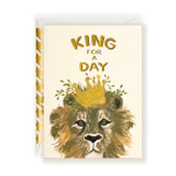 First Snow Stationery King For A Day Card