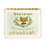 First Snow Stationery Welcome Handsome Fox Card