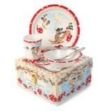 MacKenzie-Childs Toddler's Dinnerware Set - Nutkin Manor