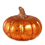 Bethany Lowe Mercury Glass Pumpkin - Small