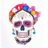 Katherines Collection Catrina Skull Wall Piece