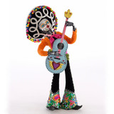 Katherines Collection Day of the Dead Guitar Player Figurine