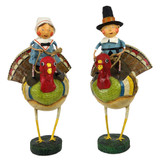 ESC & Company Tom & Goodie On Gobblers (Set of 2)
