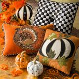 Mackenzie-Childs Dotty Pumpkin - Orange