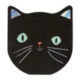 Meri Meri Halloween Black Cat Napkins