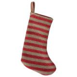 Maileg Christmas Stocking Red/Sand