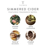 Thymes Simmered Cider Gold Kettle Cup
