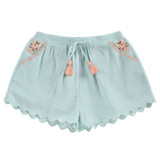 Louise Misha Malaika Almond Shorts