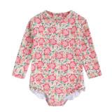 Louise Misha Aurelie Pink Meadow Swimsuit
