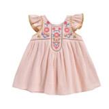 Louise Misha Baby Jendahiu Blush Dress