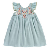 Louise Misha Jendahiu Almond Dress