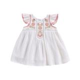 Louise Misha Jendahiu Off-White Baby Dress