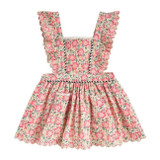 Louise Misha Mistinguette Pink Meadow Dress