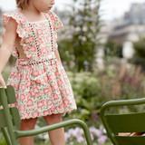 Louise Misha Mistinguette Pink Meadow Dress