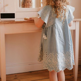 Louise Misha Cordoba Chambray Dress