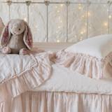 Bella Notte Linen Crib Sheet
