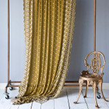 Silk Emb Curtain
