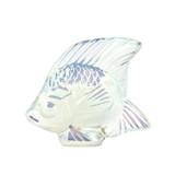 Lalique Opal Lustre Angel Fish Sculpture