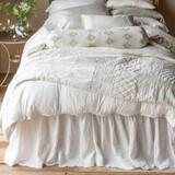 Bella Notte Linen Bed Skirt