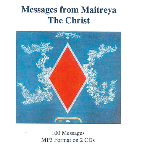Messages from Maitreya the Christ - 100 Messages (MP3 on 2 CD set)