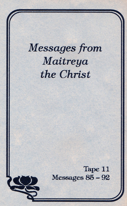 Messages from Maitreya the Christ - Messages 77-84 (Cassette Tape)