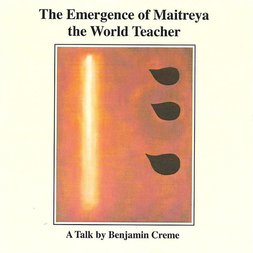 Emergence of Maitreya the World Teacher (MP3 on CD)