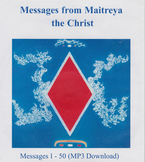 Messages from Maitreya the Christ - Messages 1-50 (MP3 Download) - Front