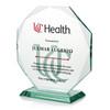 Beveled Octagon Award