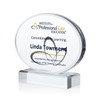 Oval Acrylic Award