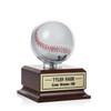 Baseball Clear Display - Wood