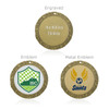 """Soccer Goal 2"""" Activity Medal"""