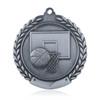 "Basketball 1 3/4""  Wreath Medal"