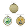 "Golf 1 3/4""  Wreath Medal"