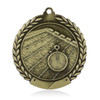 """Swimming 1 3/4""""  Wreath Medal"""