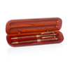 Rosewood Pen & Pencil Case