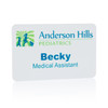Full Color Plastic Name Tags