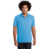 Pond Blue Heather Posi-Charge Tri-Blend Wicking Polo