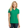 Kelly Green Ladies Core Classic Pique Polo