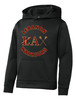 Youth Poly-Fleece Hoodie / Black
