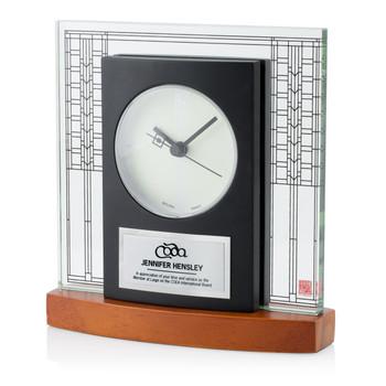 Bulova Glasner Clock
