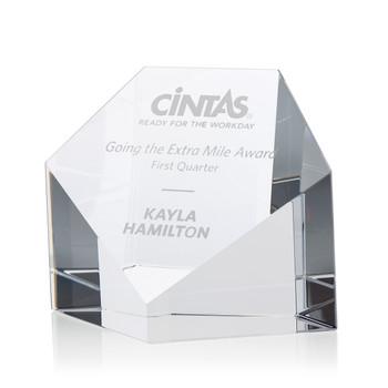 Shield Optical Crystal Award