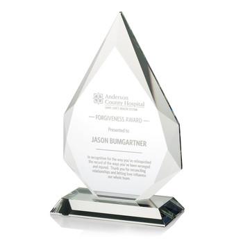 Pinnacle Optical Crystal Award