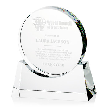 Infinity Optical Crystal Award